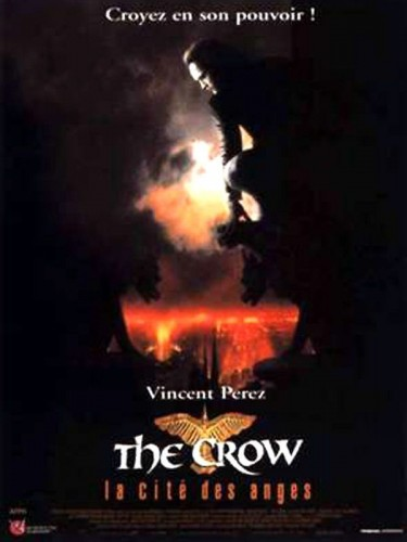 Affiche du film THE CROW LA CITE DES ANGES - THE CROW : CITY OF ANGELS