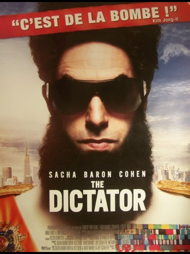 Affiche du film THE DICTATOR