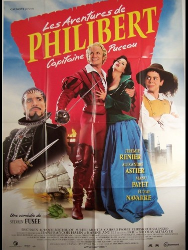 Affiche du film AVENTURES DE PHILIBERT (LES)