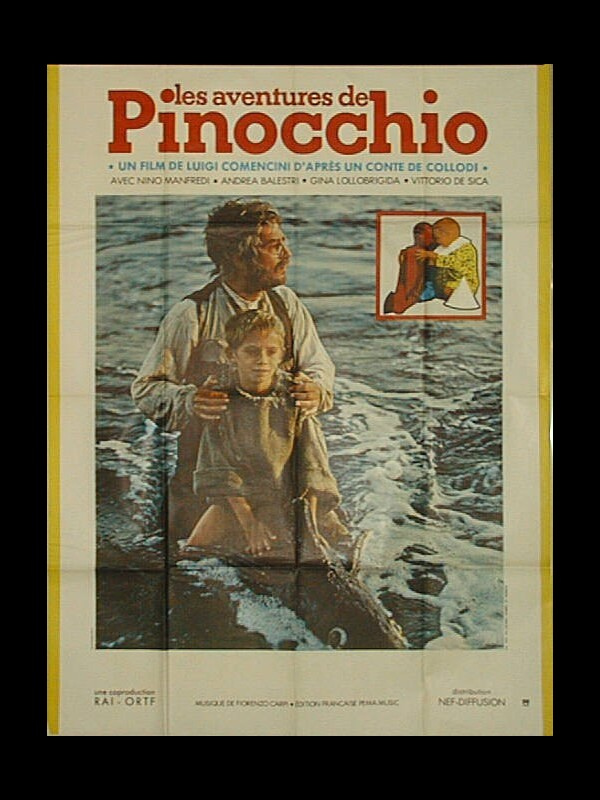 Affiche du film AVENTURES DE PINOCCHIO (LES)