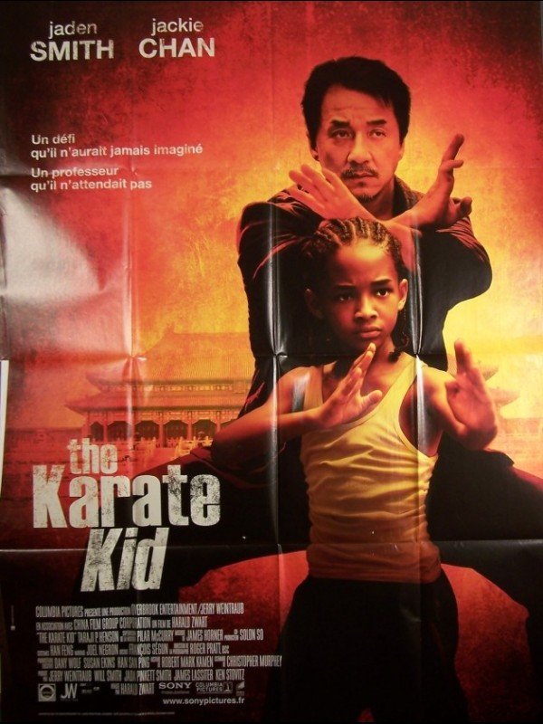 Affiche du film THE KARATE KID