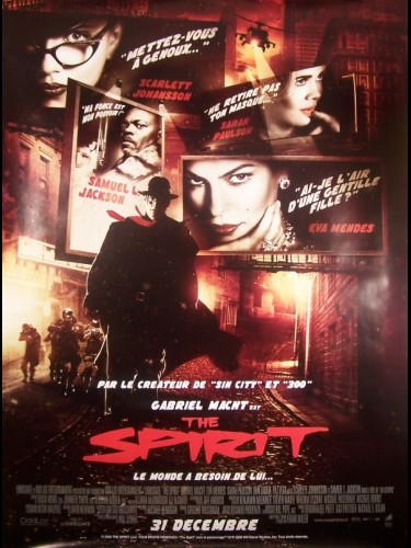 Affiche du film THE SPIRIT-B-