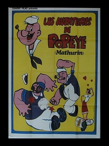 Affiche du film AVENTURES DE POPEYE (LES) - THE ADVENTURES OF POPEYE