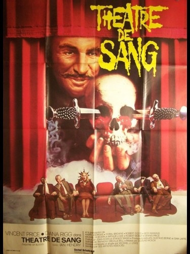 Affiche du film THEATRE DE SANG - THEATER OF BLOOD