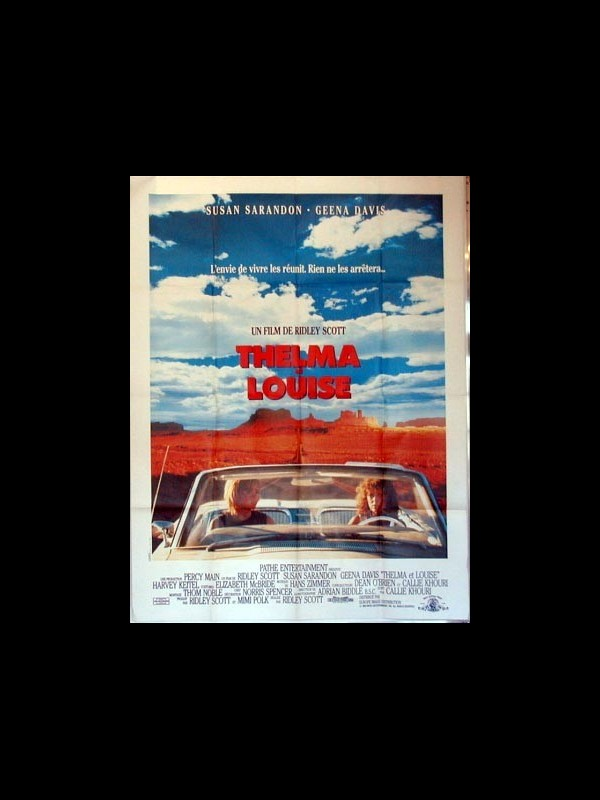 Affiche du film THELMA ET LOUISE - THELMA AND LOUISE