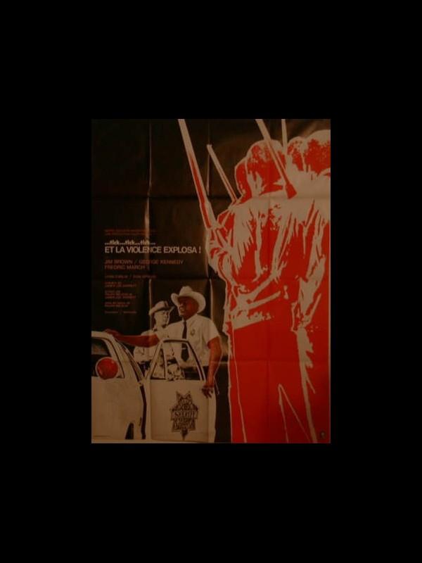 Affiche du film TICK...TICK...TICK...ET LA VIOLENCE EXPLOSA!