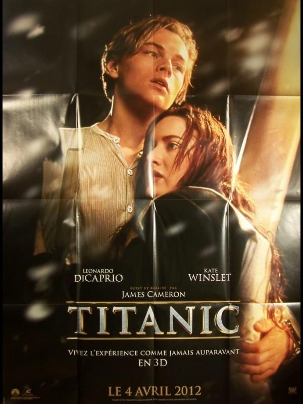 Affiche du film TITANIC 3D