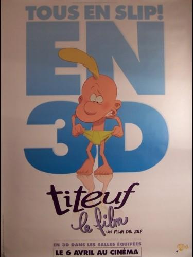TITEUF LE FILM (AFFICHE ROULÉE)