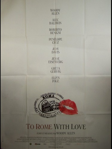 Affiche du film TO ROME WITH LOVE