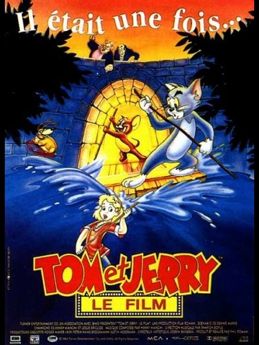 Affiche du film TOM ET JERRY (LE FILM)