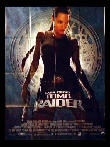 Affiche du film TOMB RAIDER : LARA CROFT