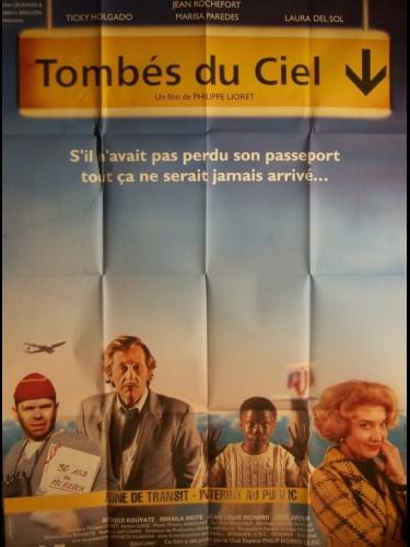 Affiche du film TOMBES DU CIEL