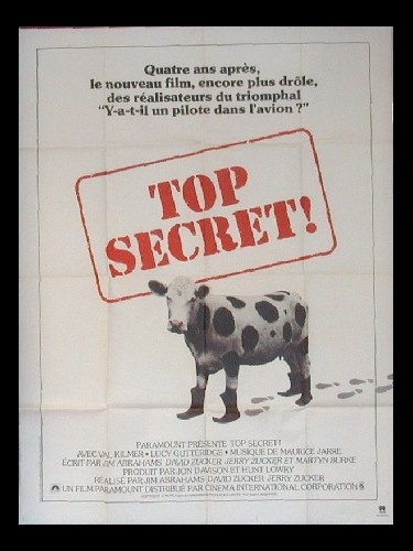 Affiche du film TOP SECRET