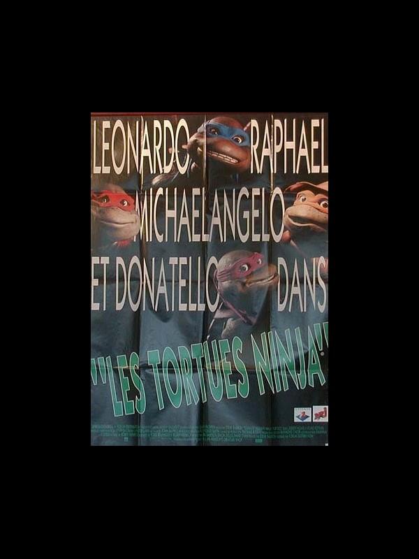 Affiche du film TORTUES NINJA (LES) - TEENAGE MUTANT NINJA TURTLES