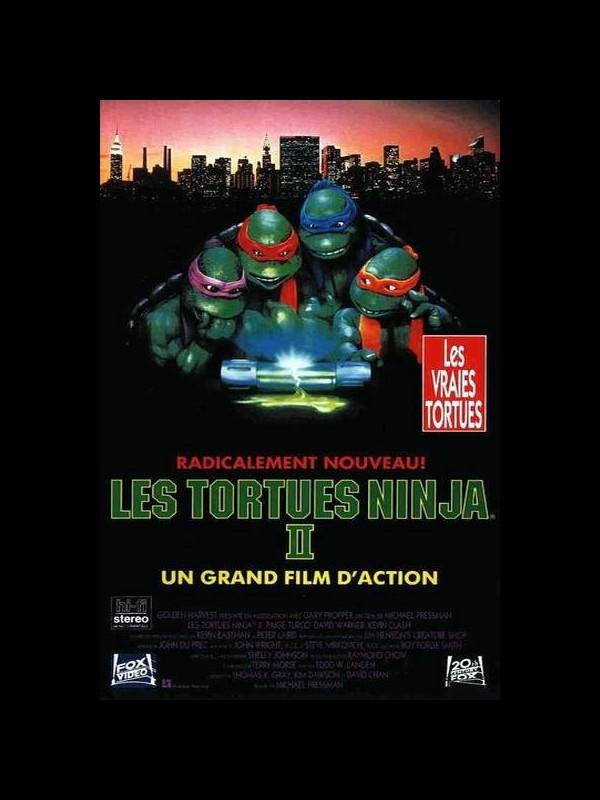 Affiche du film TORTUES NINJA 2 (LES) - THE SECRET OF THE OOZE