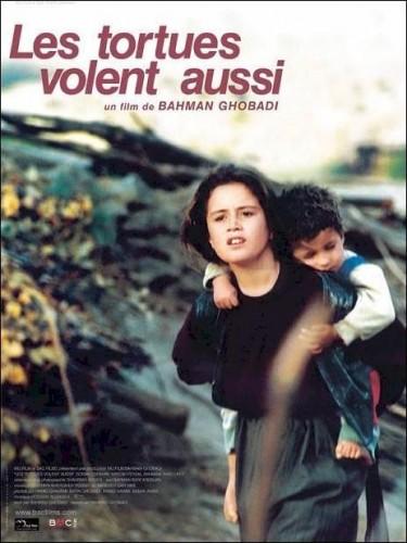 Affiche du film TORTUES VOLENT AUSSI (LES) - LAKPOSHTHA HAM PARVAZ MIKONAND