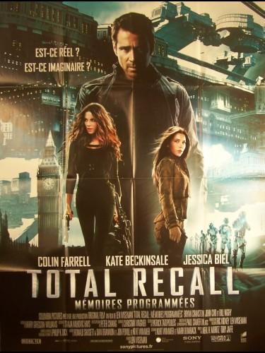 Affiche du film TOTAL RECALL