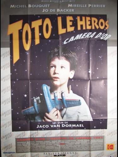 Affiche du film TOTO LE HEROS
