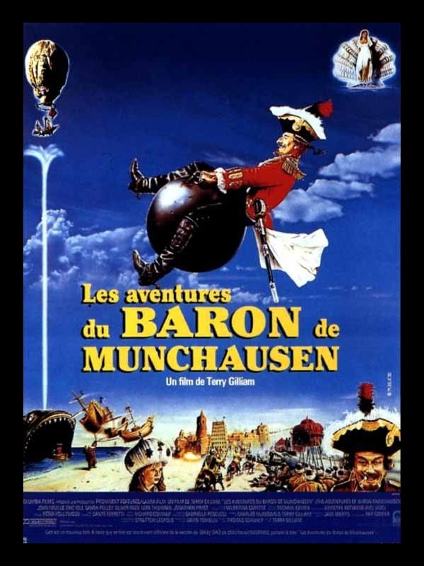 Affiche du film AVENTURES DU BARON MUNCHAUSEN (LES) - THE ADVENTURES OF BARON MUNCHAUSEN