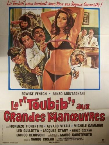 Affiche du film TOUBIB AUX GRANDES MANŒUVRES (LA) - LA SOLDATESSA ALLA VISITA MILITARE