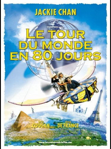 Affiche du film TOUR DU MONDE EN 80 JOURS (LE) - AROUND THE WORD IN 80 DAYS
