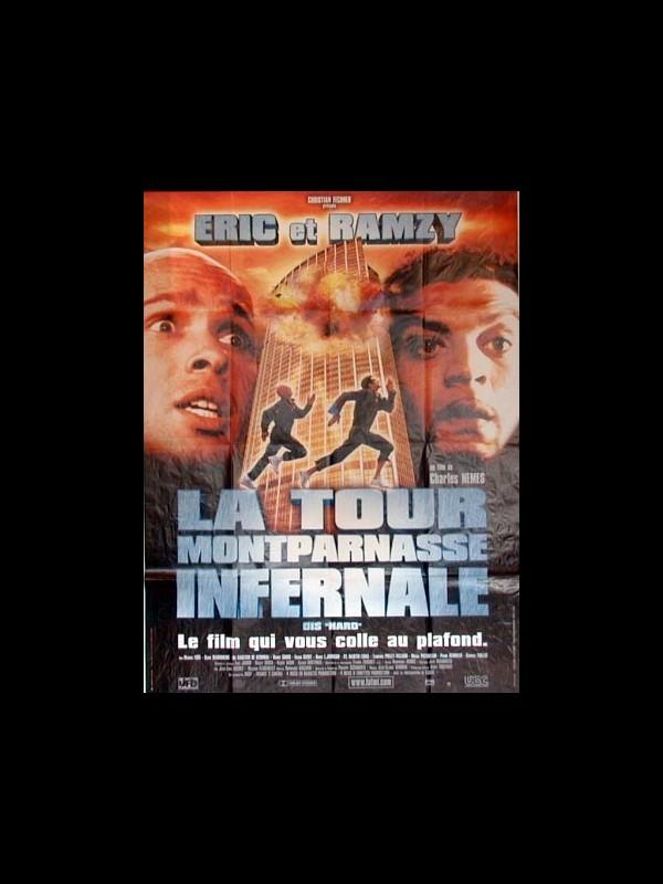 Affiche du film TOUR MONTPARNASSE INFERNALE (LA)