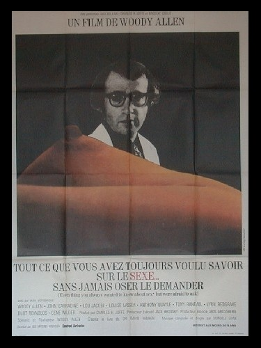 Affiche du film TOUT CE QUE VOUS AVEZ TOUJOURS VOULU SAVOIR SUR LE SEXE SANS JAMAIS OSER LE DEMANDER