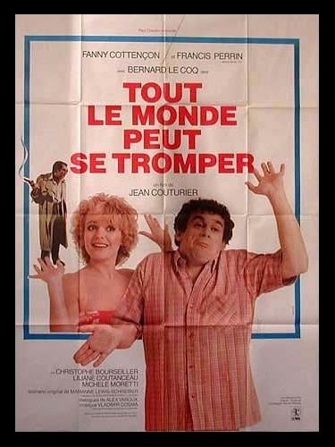 Affiche du film TOUT LE MONDE PEUT SE TROMPER
