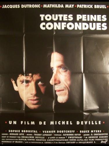 Affiche du film TOUTES PEINES CONFONDUES