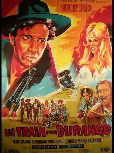 Affiche du film TRAIN POUR DURANGO (UN) - UN TRENO PER DURANGO