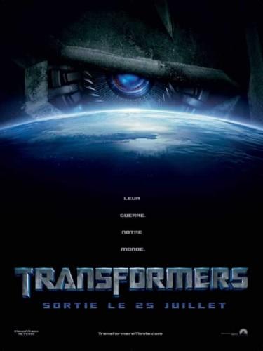 Affiche du film TRANSFORMERS
