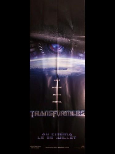 Affiche du film TRANSFORMERS 1