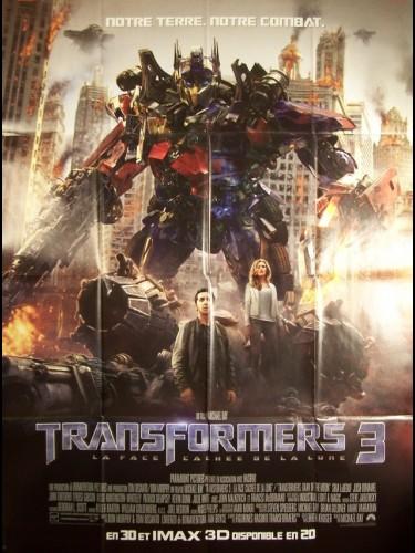 Affiche du film TRANSFORMERS 3