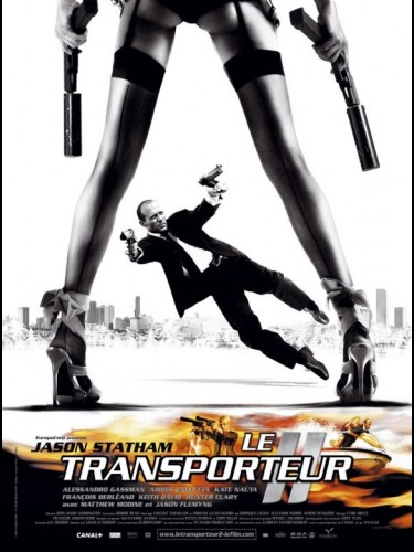 Affiche du film TRANSPORTEUR 2 (LE) - TRANSPORTER 2 (THE)