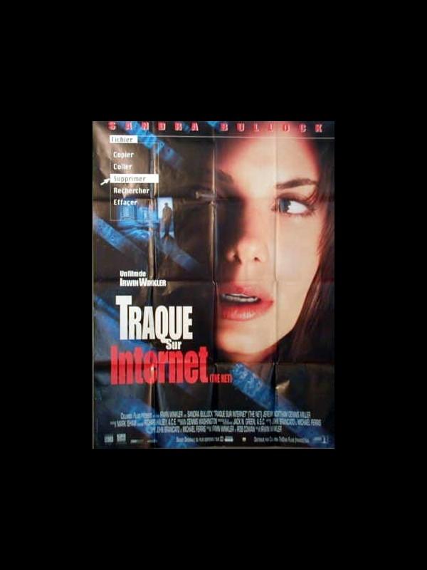 Affiche du film TRAQUE SUR INTERNET - THE NET