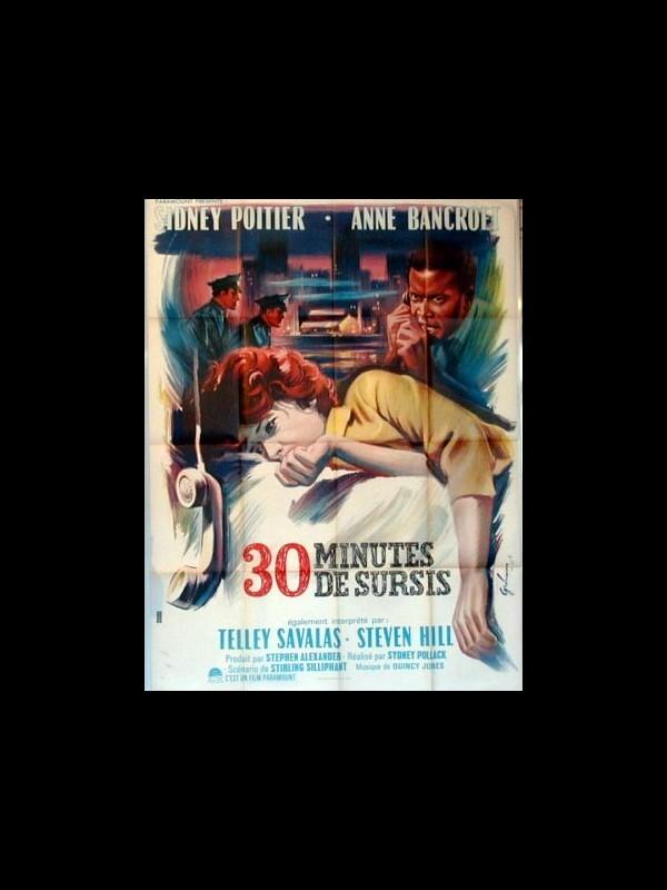Affiche du film TRENTE MINUTES DE SURSIS - THE SLENDER THREAD