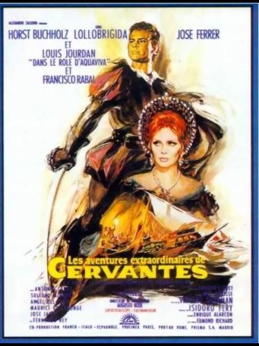 Affiche du film AVENTURES EXTRAORDINAIRES DE CERVANTES (LES)