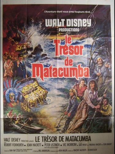 Affiche du film TRESOR DE MATACUMBA (LE) - TREASURE OF MATECUMBE
