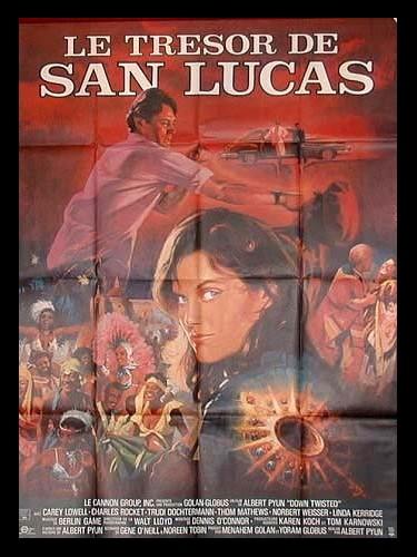 Affiche du film TRESOR DE SAN LUCAS (LE)