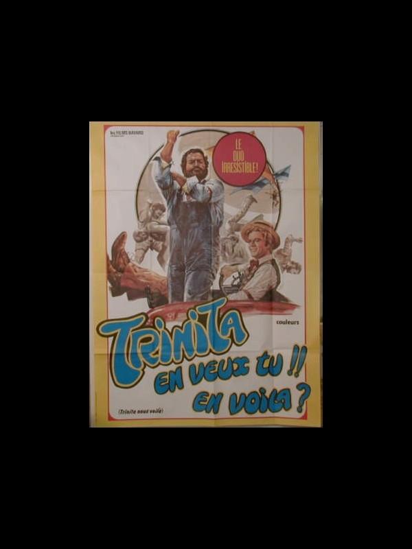 Affiche du film TRINITA NOUS VOILA