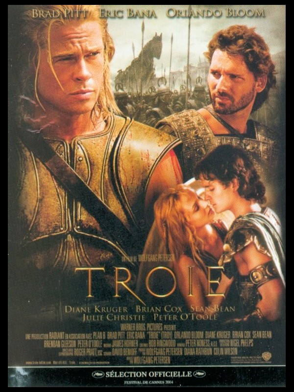 Affiche du film TROIE - TROY - DIRECTOR'S CUT
