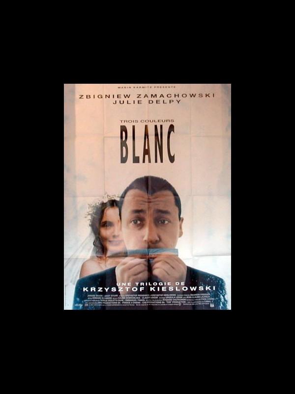 Affiche du film TROIS COULEURS BLANC - TRZY KOLORY: BIALY