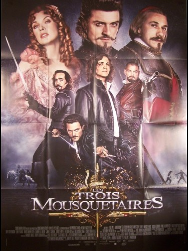 Affiche du film TROIS MOUSQUETAIRES (LES) - THE THREE MUSKETEERS