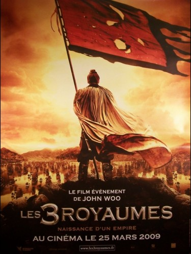 Affiche du film TROIS ROYAUMES (LES) - THE BATTLE OF RED CLIFF