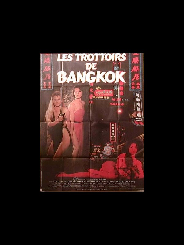 Affiche du film TROTTOIRS DE BANGKOK (LES) - SIDEWALKS OF BANGKOK