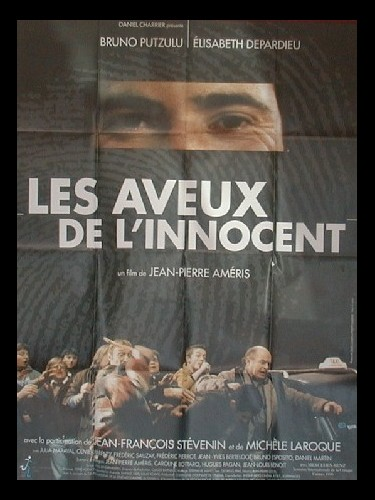 Affiche du film AVEUX DE L'INNOCENT (LES)