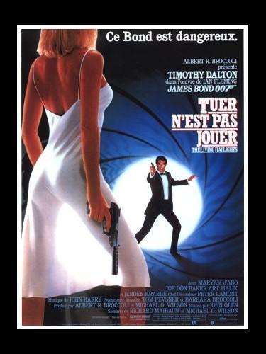 Affiche du film TUER N'EST PAS JOUER (JAMES BOND) - THE LIVING DAYLIGHTS