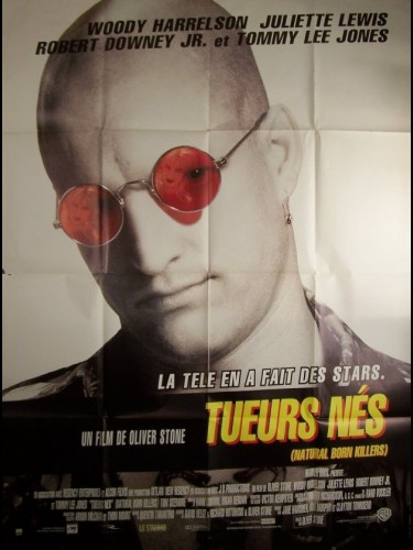 Affiche du film TUEURS NES - NATURAL BORN KILLERS