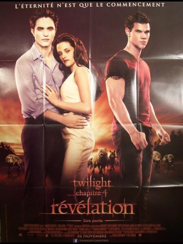 Affiche du film TWILIGHT 4 -LA REVELATION 1ERE PARTIE-