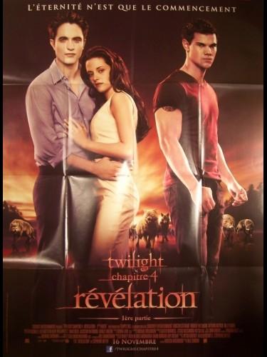 Affiche du film TWILIGHT- LA REVELATION CHAPITRE 1